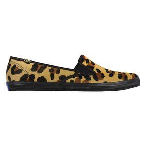 Keds-KD517-Pointer-Slip-Skin-Leopard-Preto-Lado