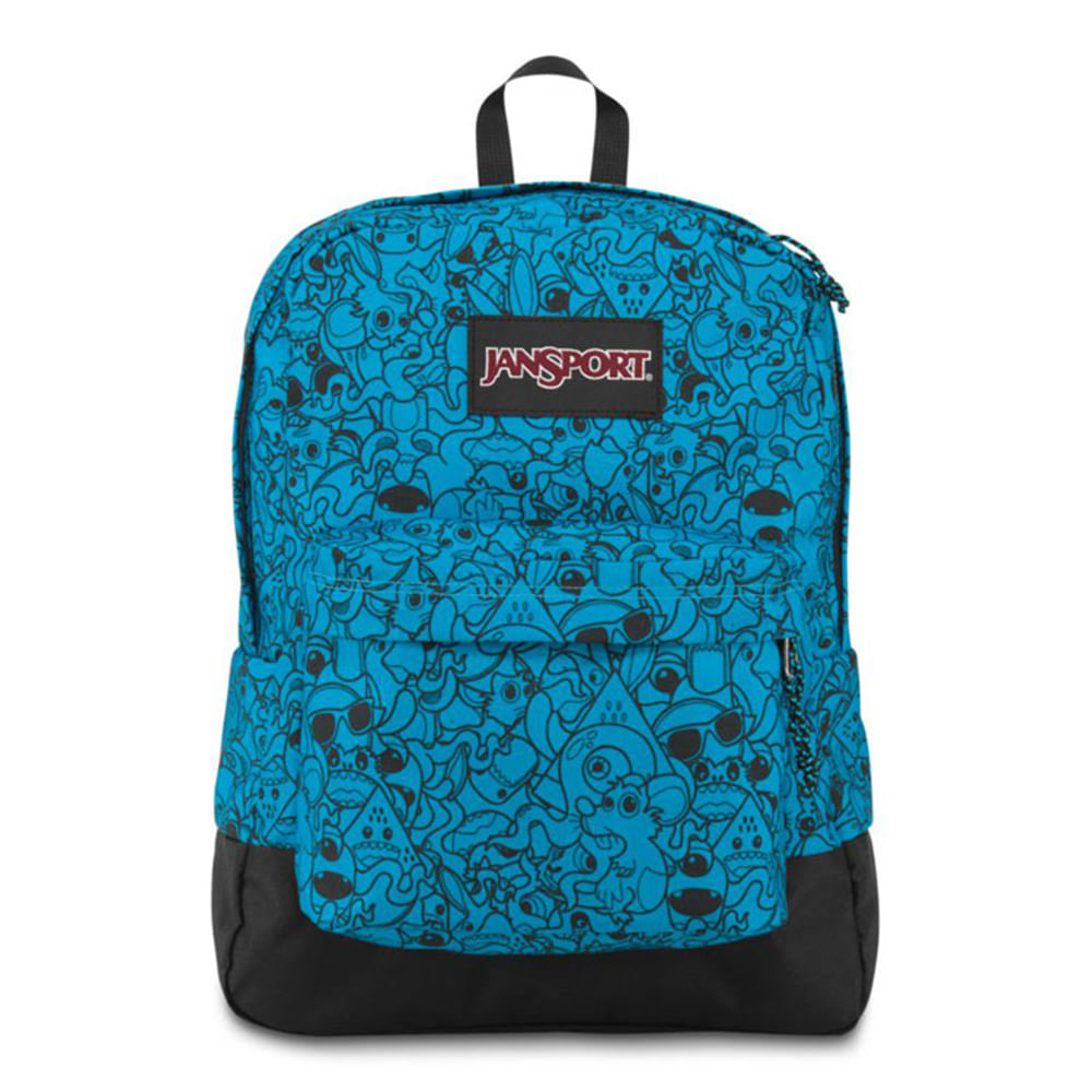 Mochila JanSport Black Label Superbreak - Blu Rt N Ct - Único