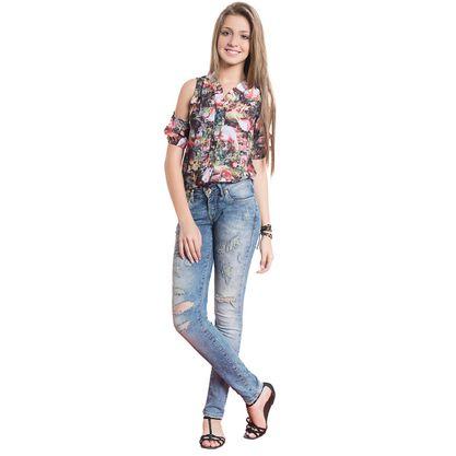 6006.96.023-Puramania-Camisa-Fem.-Manga-Aberta-Flamingo-Frente