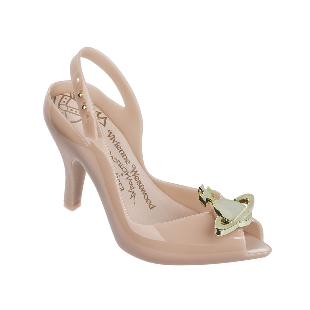 Melissa Lady Dragon XII + Vivienne Westwood Anglomania - Rosa / Ouro - 38