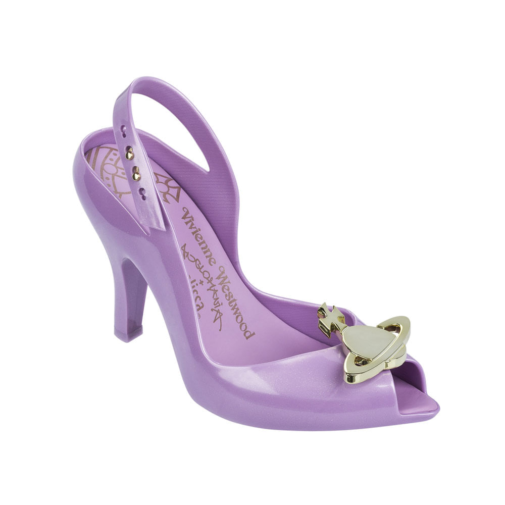 Melissa Lady Dragon XII + Vivienne Westwood Anglomania - Lilas Ouro - 37