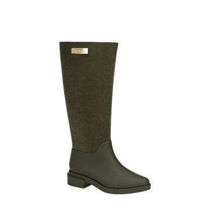 31922-Melissa-Long-Boot-Flocked-VerdeFlocado-Lado