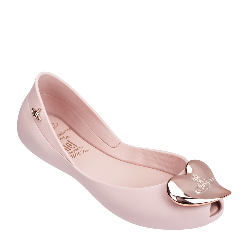 Melissa Mel Queen II + Vivienne Westwood Anglomania - Rosa Cameo Opaco - 30