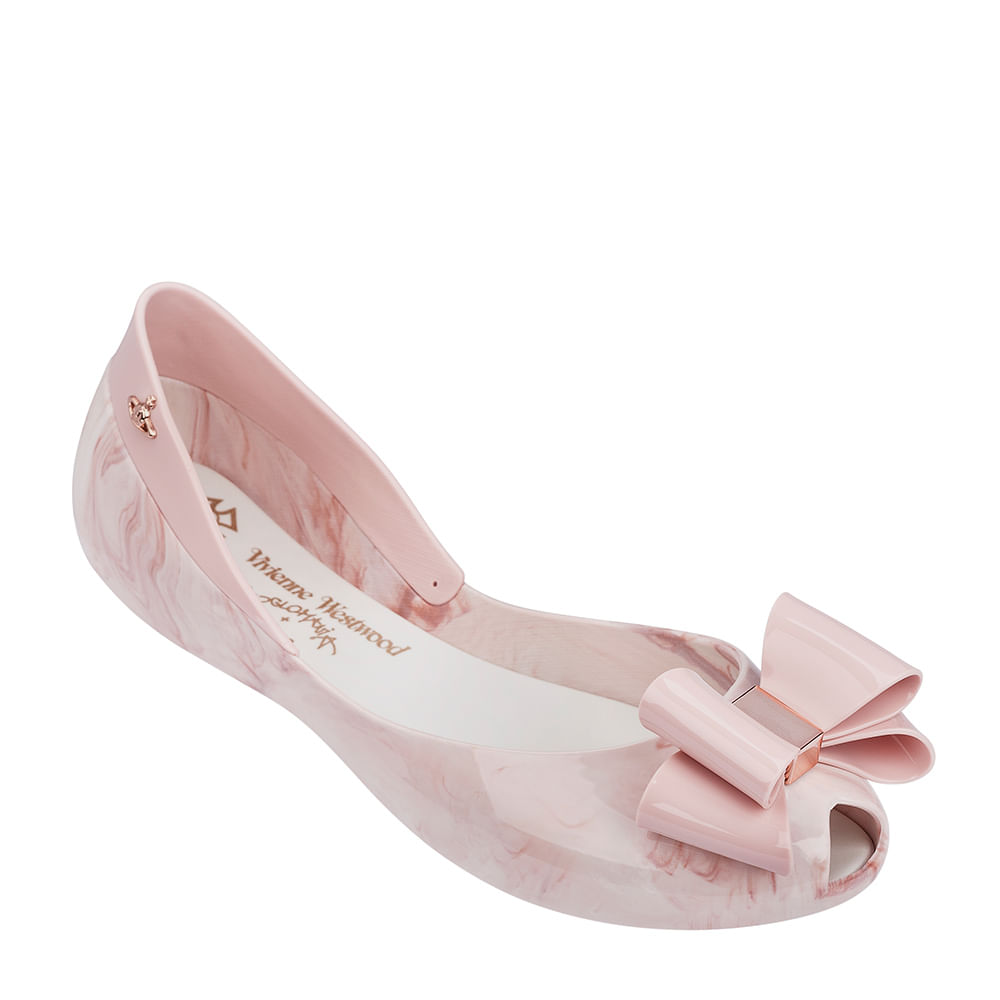 Melissa Queen II + Vivienne Westwood Anglomania - Rosa Mármore - 35