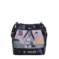 31.71104-Bolsa-Be-Forever-Cat-Believe-PretoDourado-Frente