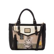 31.71109-Bolsa-Be-Forever-Cat-Believe-PretoPretoCreme-Frente