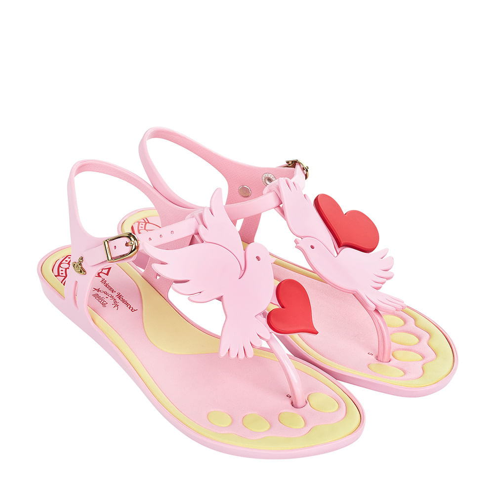 Melissa Solar II + Vivienne Westwood Anglomania - Rosa Candy Doch - 36