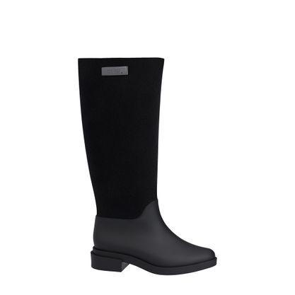 31922-Melissa-Long-Boot-Flocked-PretoFlocado-Direita