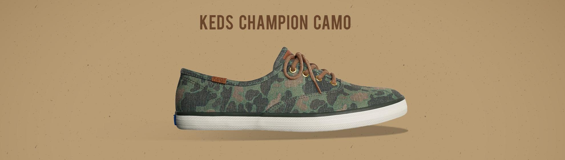 Keds Camo