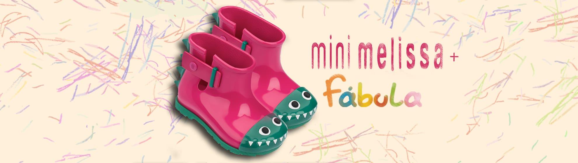 Mini Melissa Sugar Rain + Fabula