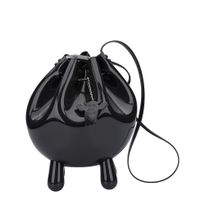 34128-Melissa-Sac-Bag-Real-Plastic-PretoOpaco-Principal