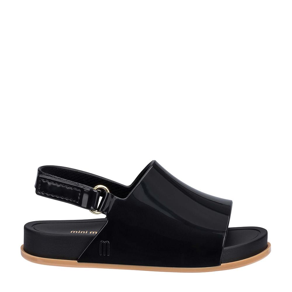 Mini Melissa Black Shoes