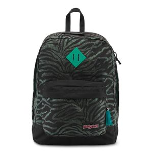 T64Q-Jansport-SuperFX-BluGlitterZebra-0AV-Frente
