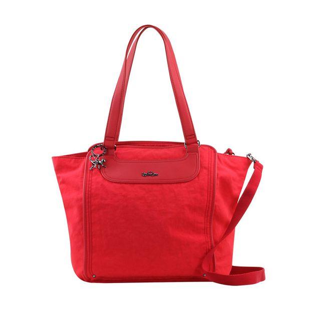 Bolsa-Kipling-AleziaSso-Cardinal-Red-Frente