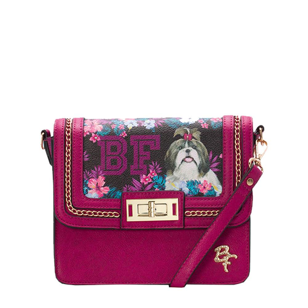 35cfec55fd5 Mini Bolsa Be Forever Shitzu College Rosa