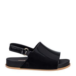 31997-Mini-Melissa-Beach-Slide-Sandal-PretoBege-Direita