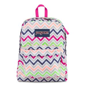 T50F-Jansport-Digibreak-CyberPinkSummerChevron-0ED-Frente