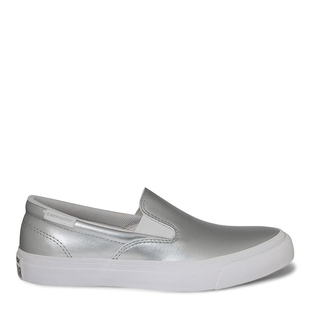 7591afdd49 Tênis All Star Core Slip Preto Prata Puro Branco   Sua Loja Converse -  Menina Shoes