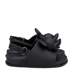 32284-Mini-Melissa-Beach-Slide-Sandal-Disney-PretoOpaco-Variacao1
