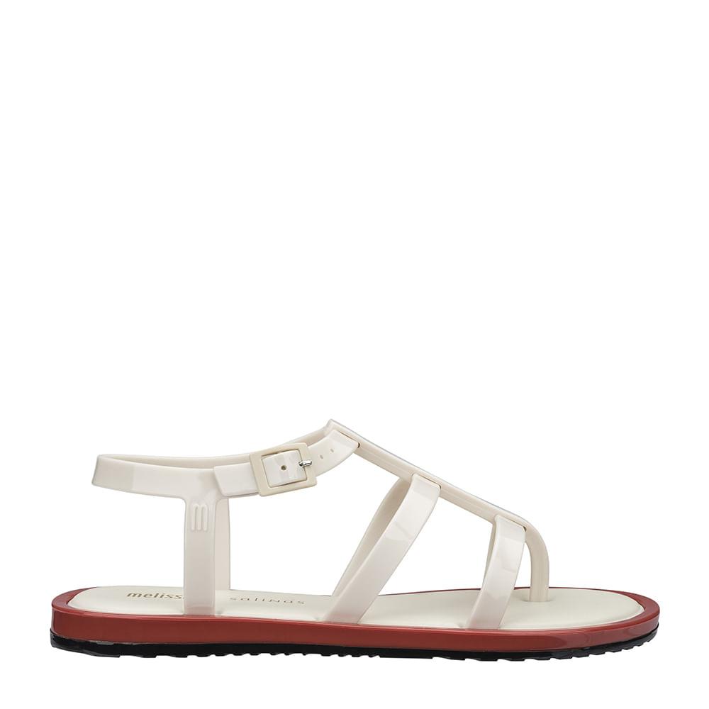 25944d35a Melissa Caribe Verão + Salinas Preto Marrom Bege   Melissa - Menina Shoes