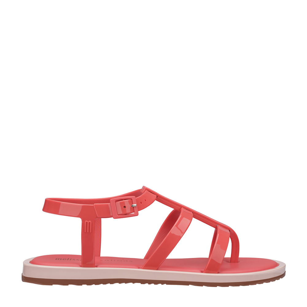 72d0ec8aa Melissa Caribe Verão + Salinas Rosa Vermelho   Melissa - Menina Shoes