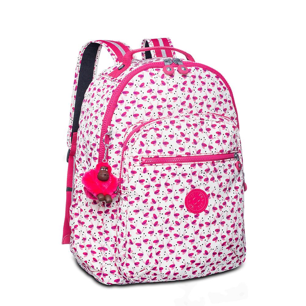 8b46a2e62 Mochila Kipling Seoul UP Pink Wings | Sua Loja Kipling - Menina Shoes