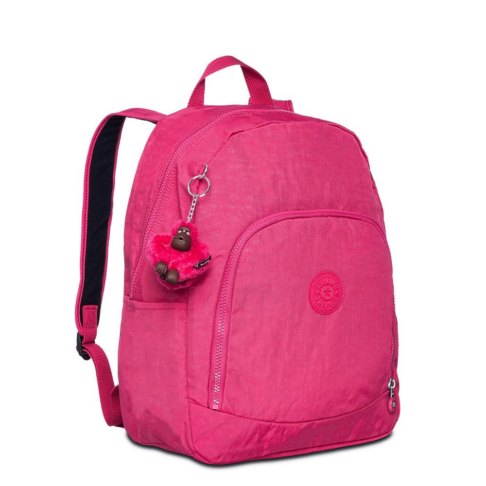 a27fb9b7b Mochila Kipling Carmine Cerise Pink   Sua Loja Kipling - Menina Shoes