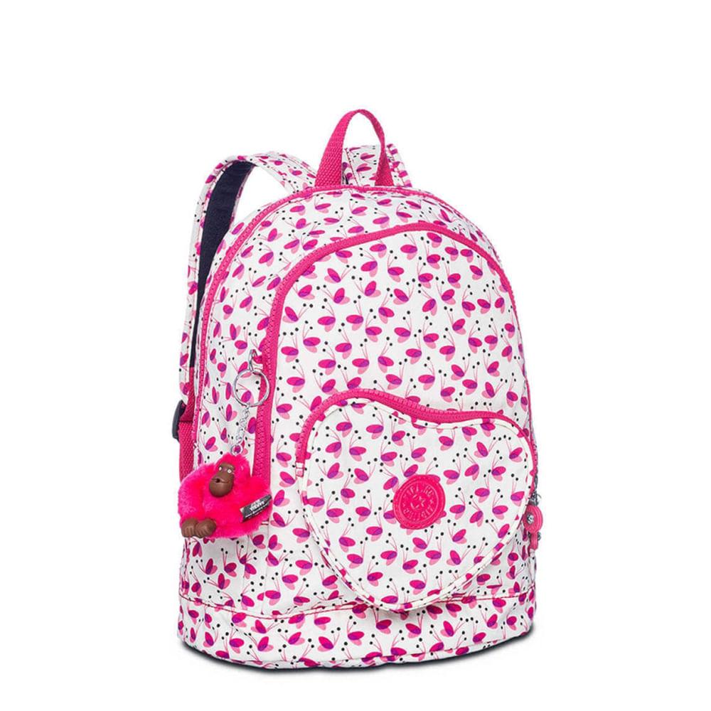 090ec7fa8 Mini Mochila Kipling Heart Backpack Pink Wings | Kipling - Menina Shoes