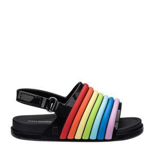 32486-Mini-Melissa-Beach-Slide-Sandal-Rainbow-PretoMulticor-Variacao1