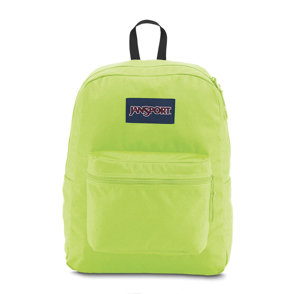 e7cf70d64 Mochila JanSport Exposed Neon Yellow | JanSport - Menina Shoes