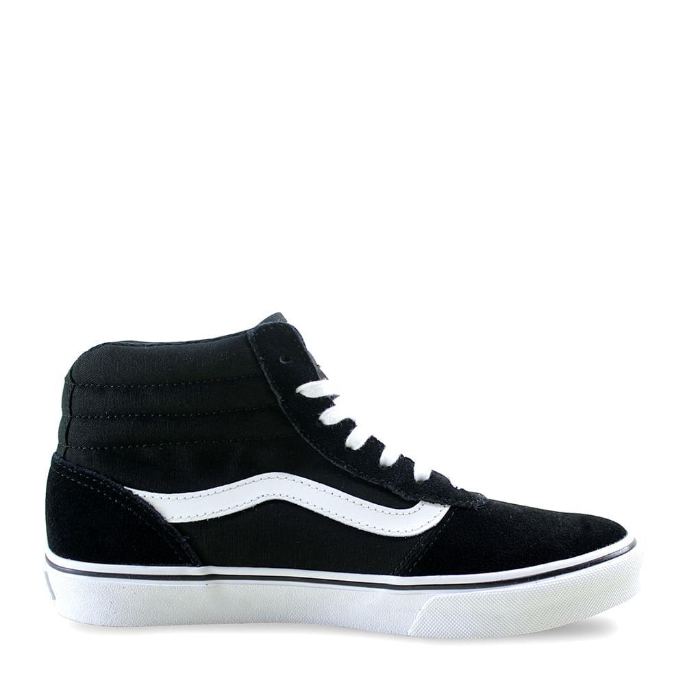 6c78fe79ae9 Tênis Vans WM Maddie HI Black White