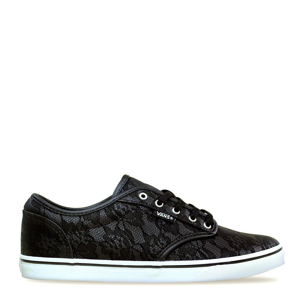 hot-selling fashion latest style 100% original Tênis Vans WM Atwood Low Black