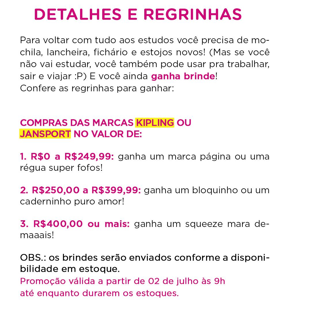 DETALHES E REGRAS