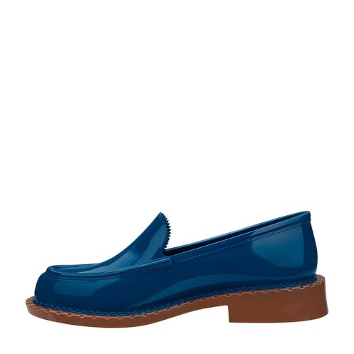 fc8f7a3edd08e1 Melissa Penny Loafer Azul Marrom | Melissa - Menina Shoes
