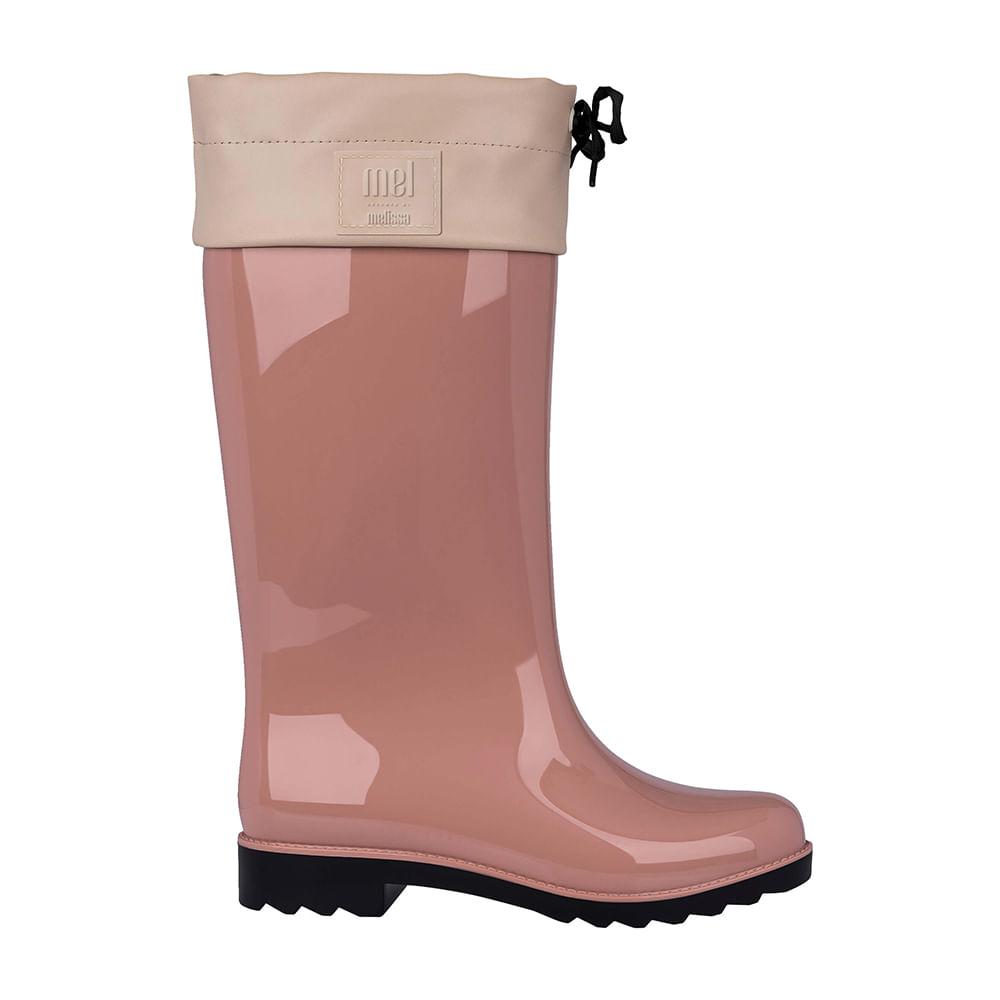 926766eaafd Melissa Mel Rain Boot Rosa Preto