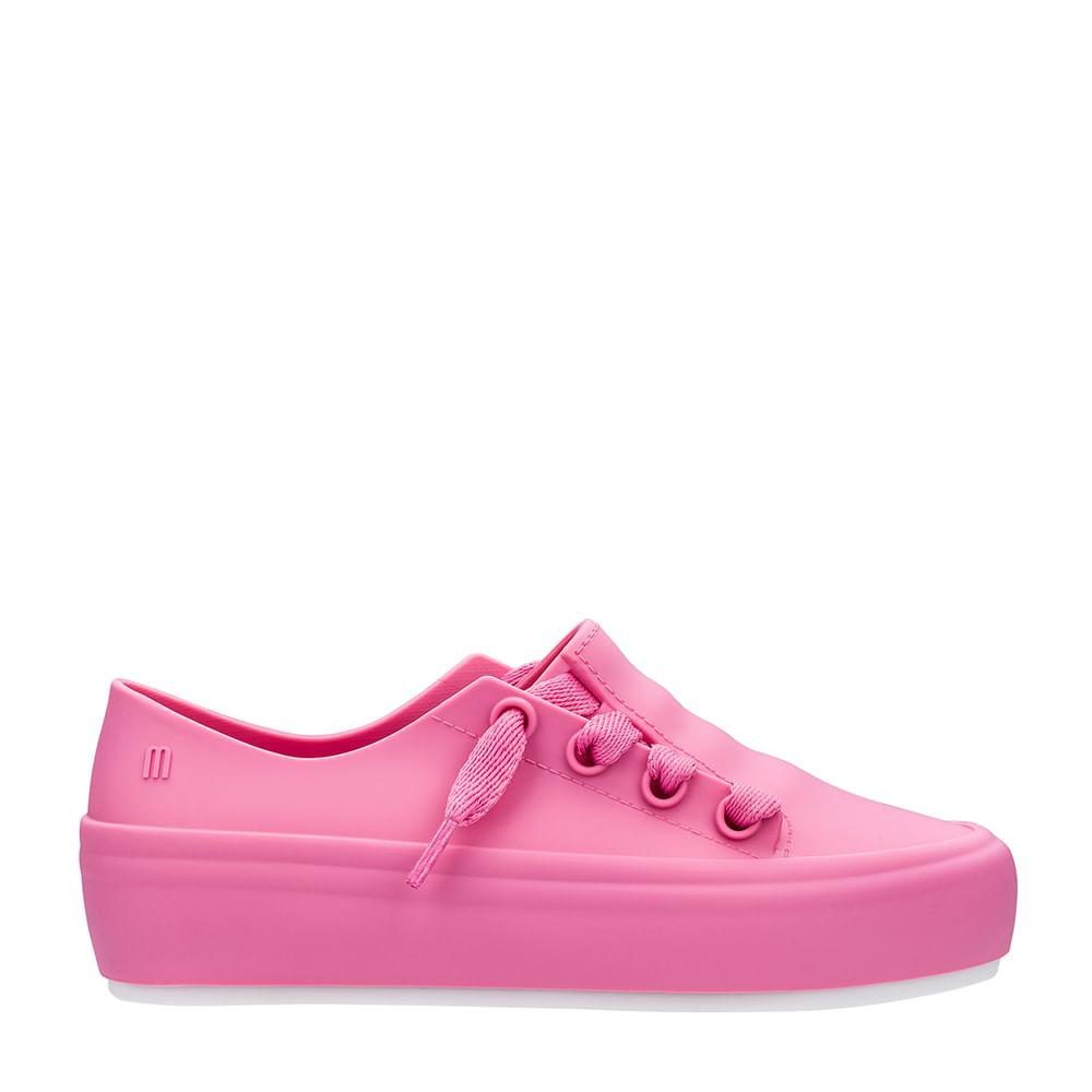 44e781ac6b2 Melissa Mel Ulitsa Sneaker Rosa Branco