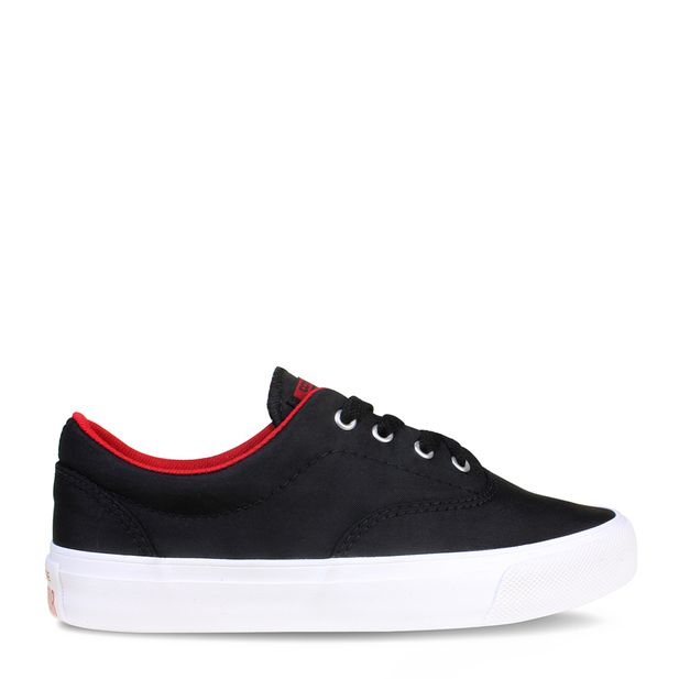 6d6a455902 Tênis Converse Skidgrip CVO Preto Vermelho Escuro Branco   Converse -  Menina Shoes