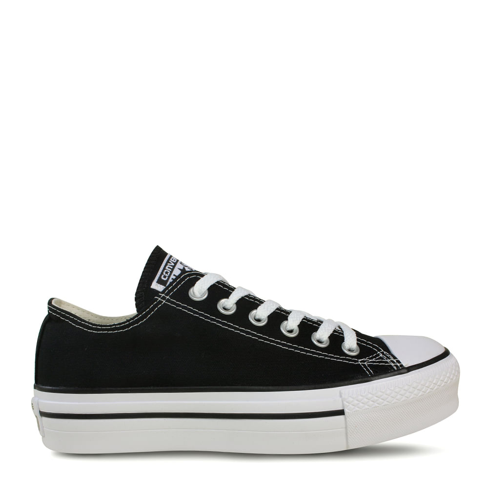 64587e55c6 Tênis All Star Chuck Taylor Platform Preto Branco | Converse - Menina Shoes