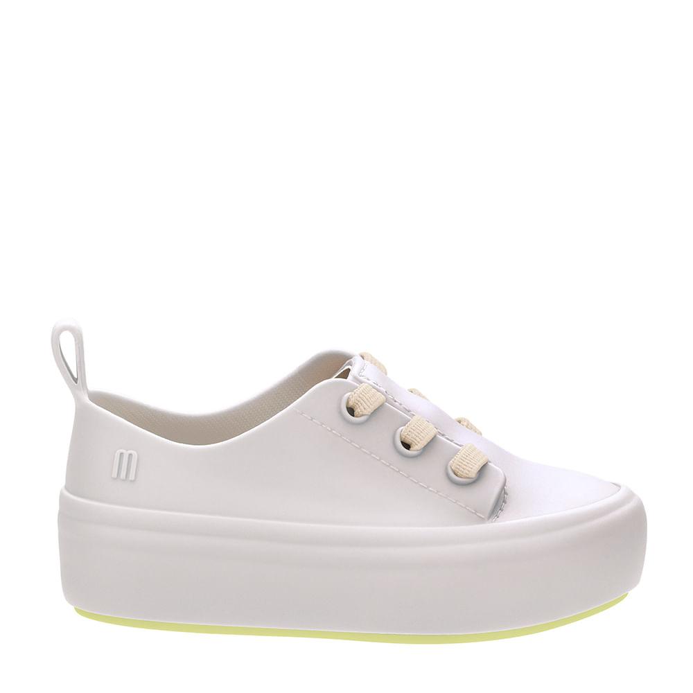 b422fde85f Mini Melissa Ulitsa Sneaker Bege Amarelo
