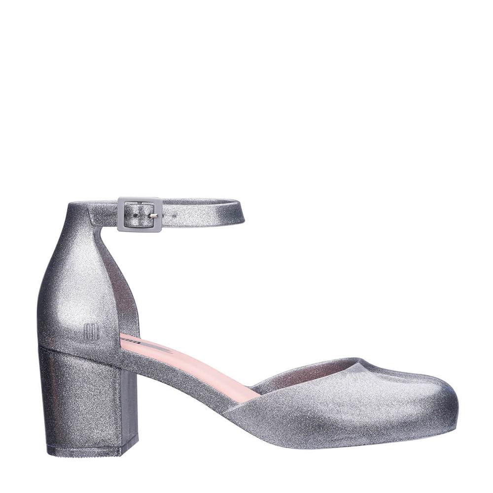 c16a98582 Melissa Femme High Vidro Glitter Prata | Melissa - Menina Shoes