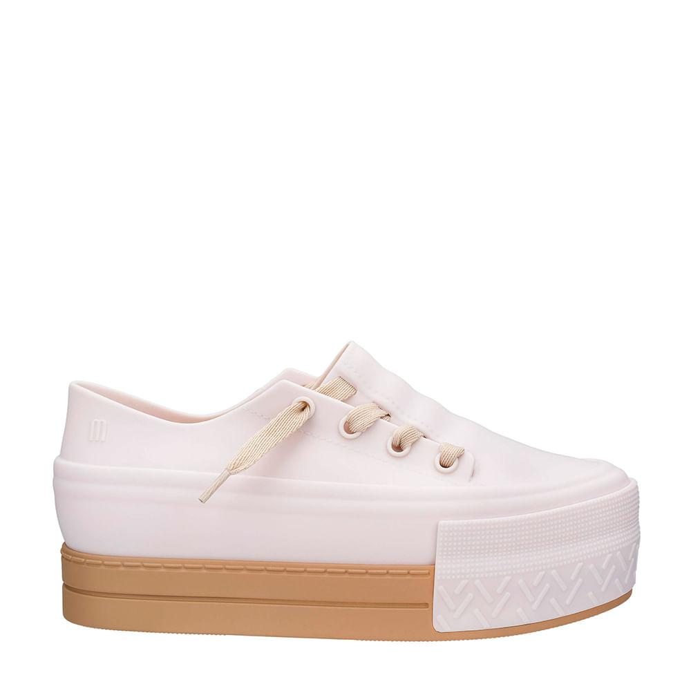 8b54aeb1e5 Melissa Ulitsa Sneaker Platform Bege