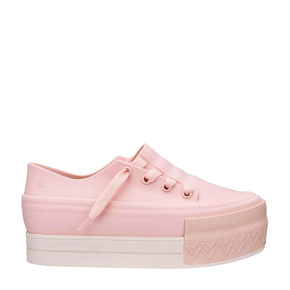 f645f00d83 Melissa Ulitsa Sneaker Platform Rosa Bege