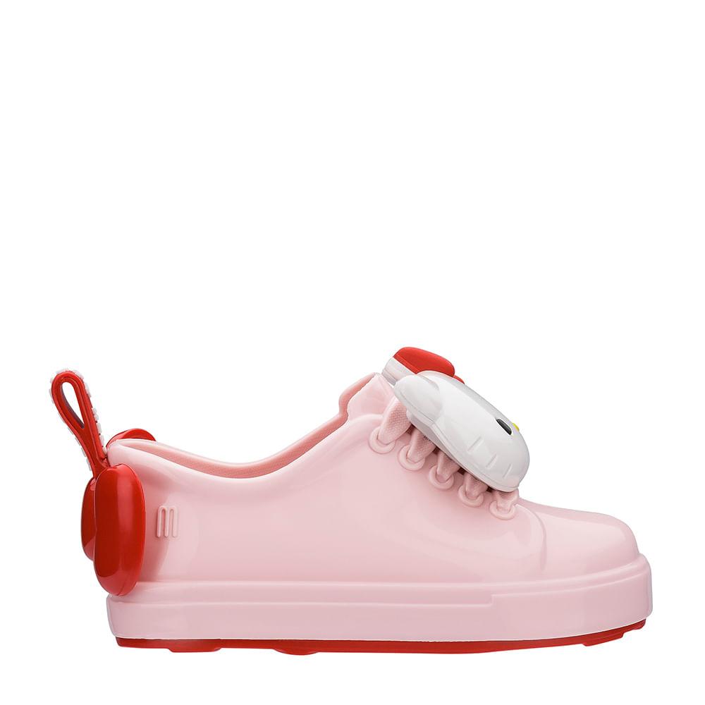 60d17eef28c Mini Melissa Be + Hello Kitty Rosa Branco Vermelho