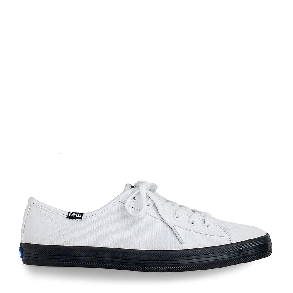 3d8b1287ac Tênis Keds Kickstart Colors Branco Preto