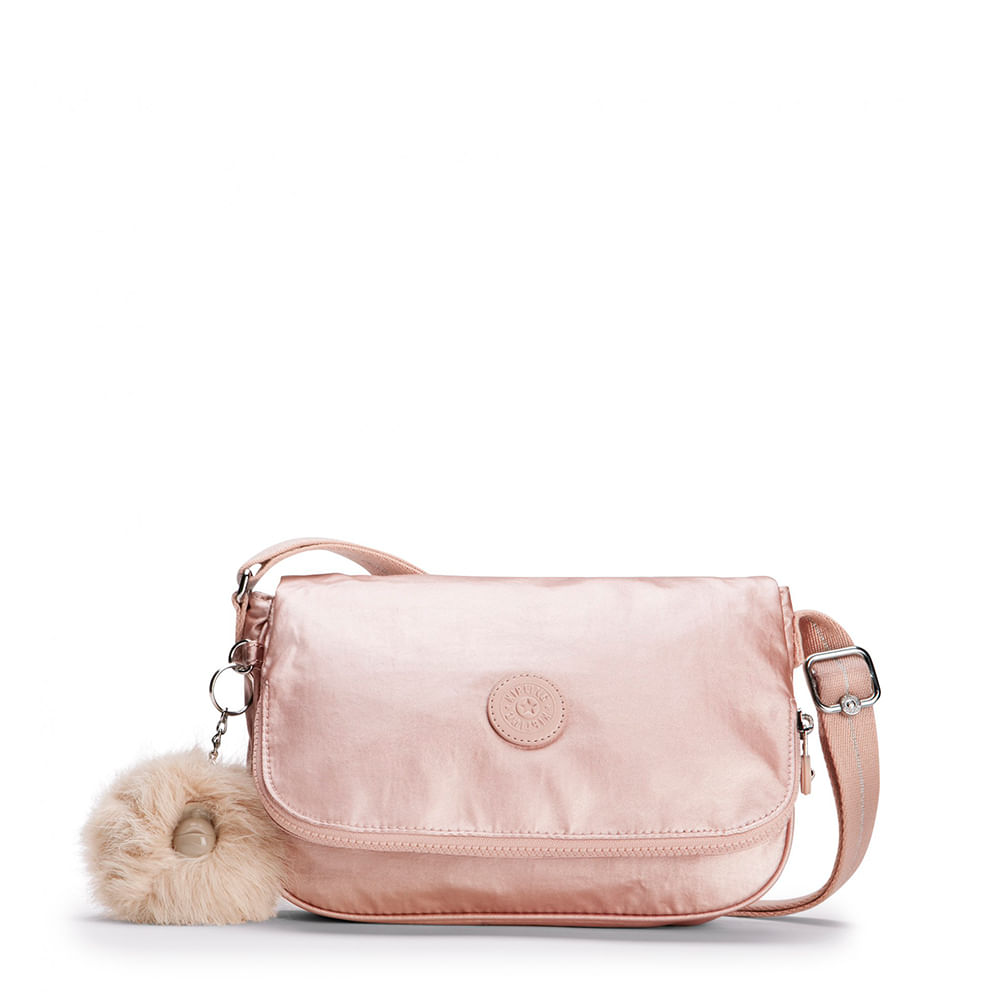 b806aa055 Bolsa Kipling Earthbeat S Metallic Blush | Kipling - Menina Shoes