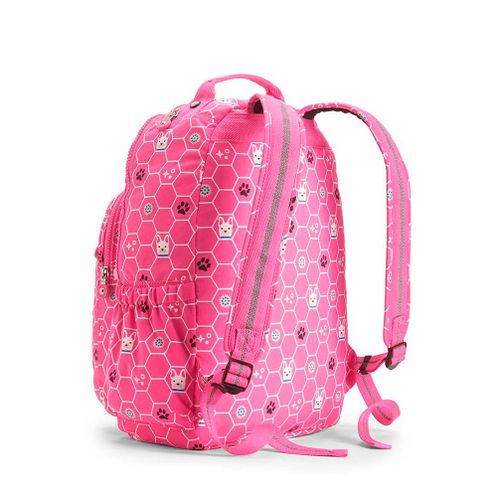 031bcd9e0 Mochila Kipling Seoul Go Pink Dog Tile | Kipling - Menina Shoes