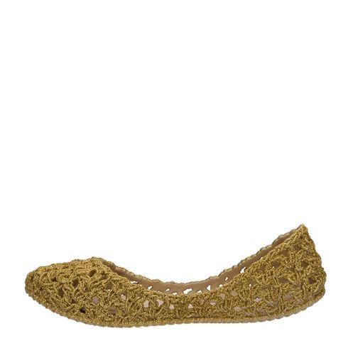 4835d735ee2 Melissa Mel Campana Crochet Ouro Glitter | Melissa - Menina Shoes