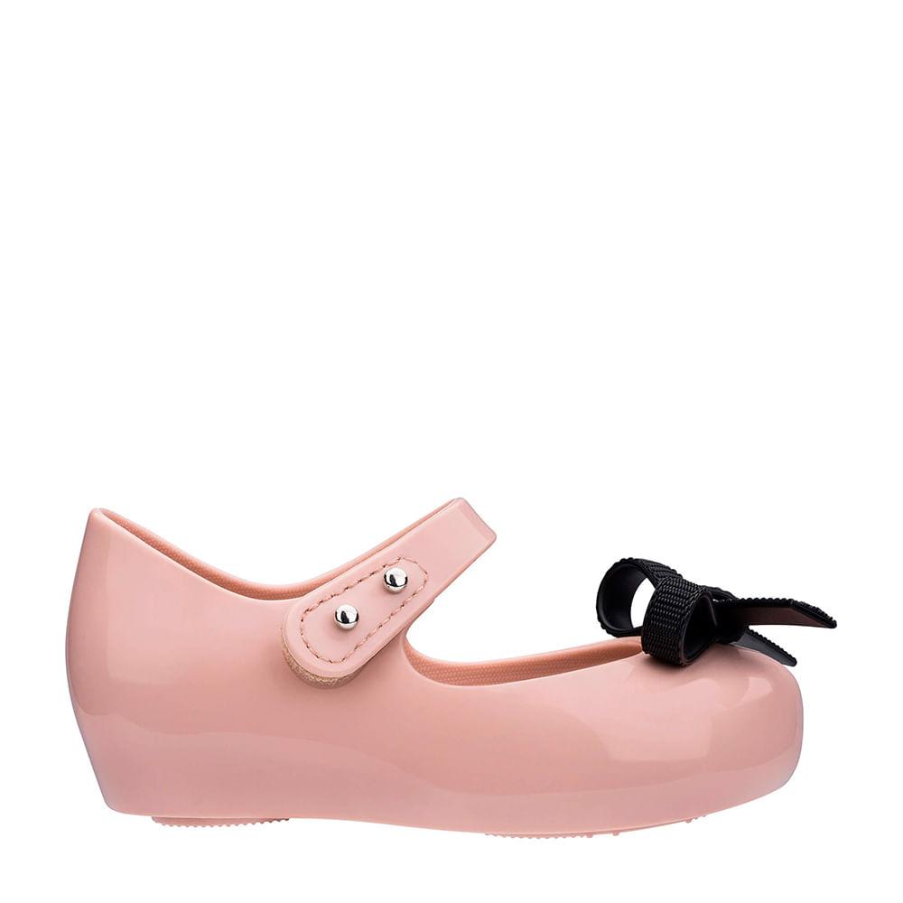 a100651b8da Mini Melissa Ultragirl + Jason Wu II Rosa Preto | Melissa - Menina Shoes