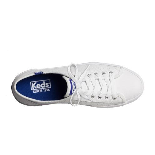 c1a80fa72 Tênis Keds Kickstart Perf Leather Branco Blue | Sua Loja Keds ...