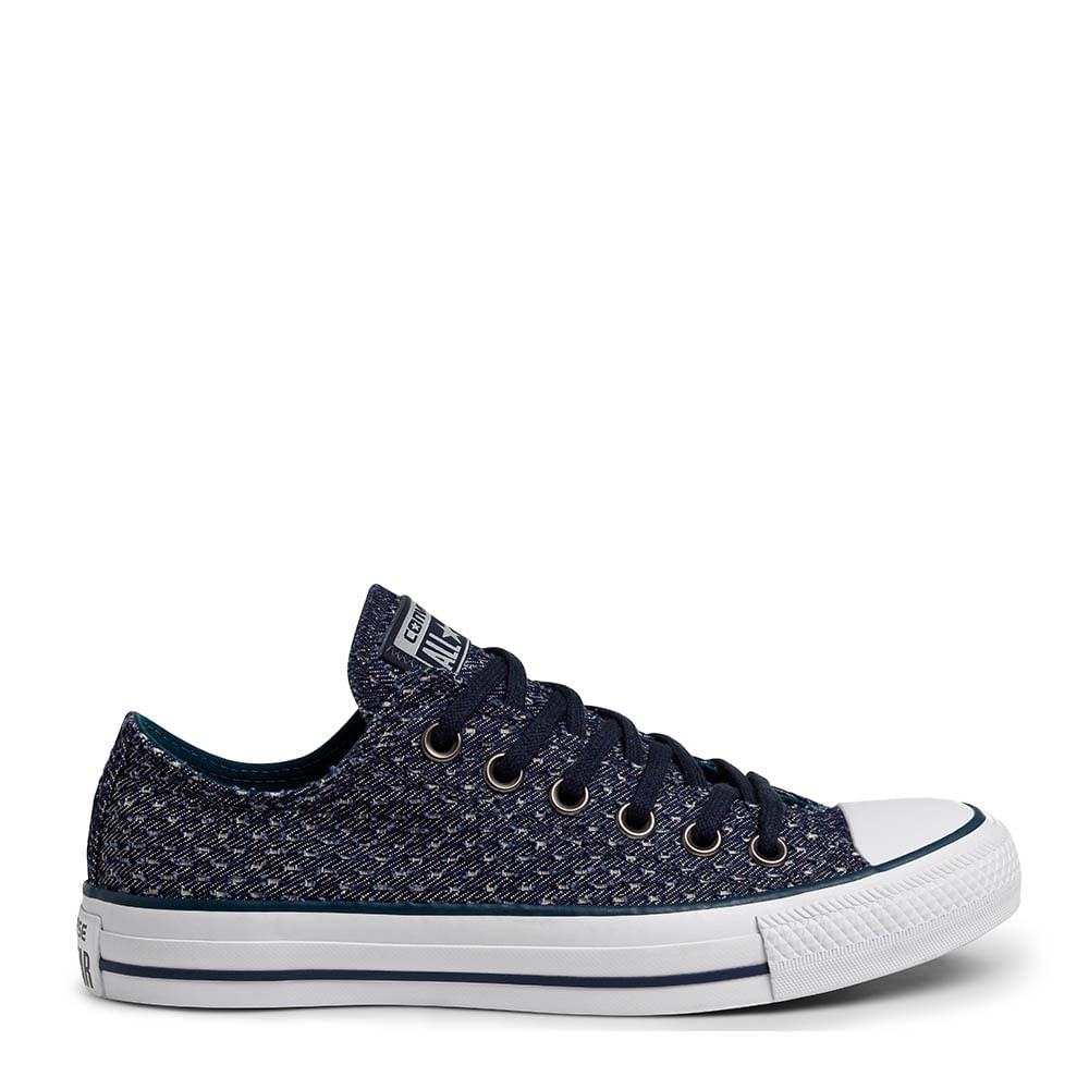 be37df1ca36 Tênis All Star CT AS OX Chuck Taylor Marinho Verde Branco